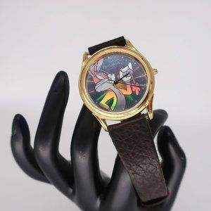1994  Looney Toons Bug Bunny Holographic Watch